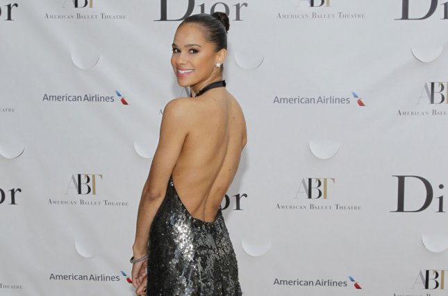 Misty Copeland arrives on the red carpet at the American Ballet Theatre Opening Night Spring Gala the Metropolitan Opera House at Lincoln Center in New York City on May 13, 2013. Her initial goal was to become a principal dancer for the American Ballet Theater and has now reached that goal. Photo by John Angelillo/UPI