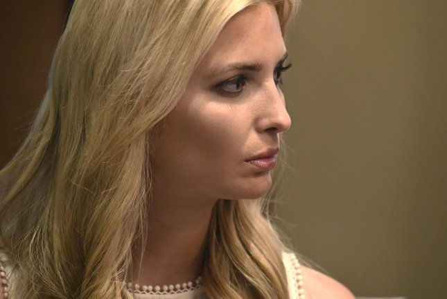Ivanka Trump, daughter and adviser to President Donald Trump, said immigration is a complicated issue but that she is vehemently against separated migrant children from their parents. Photo by Mike Theiler/UPI