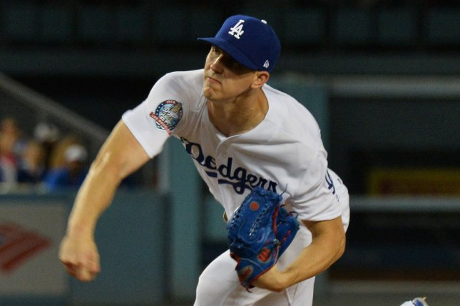 Walker Buehler and the Los Angeles Dodgers face the Colorado Rockies on Wednesday. Photo by Jim Ruymen/UPI