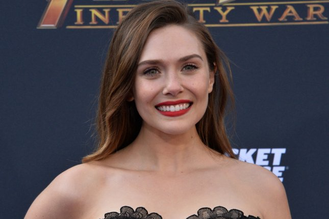 Elizabeth Olsen is set to star in the Marvel series WandaVision for the new Disney+ streaming service, which is scheduled to debut Nov. 12. File Photo by Jim Ruymen/UPI