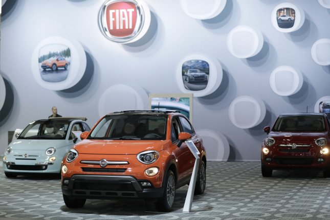 Fiat Chrysler said political conditions in France don't support the proposed 50-50 merger with Renault. File Photo by John Angelillo/UPI