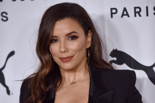 Eva Longoria is set to co-host the CBS special, Essential Workers: A Momento Latino Event. File Photo by Chris Chew/UPI