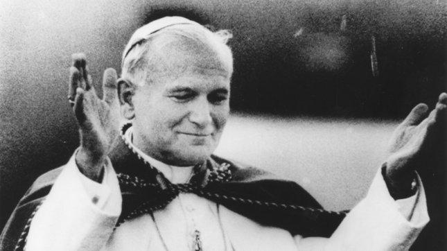 Pope Francis signed a decree at the Vatican Friday to canonize Popes John Paul II and John XXIII, who will be made saints later this year. File/UPI