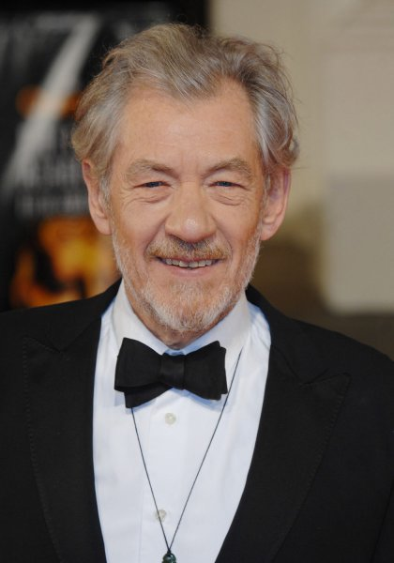British actor Ian McKellen attends The Orange British Academy Film Awards at The Royal Opera House in London on February 11, 2007. (UPI Photo/Rune Hellestad)
