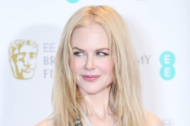 Nicole Kidman at the EE British Academy Film Awards on February 12. File Photo by Rune Hellestad/UPI