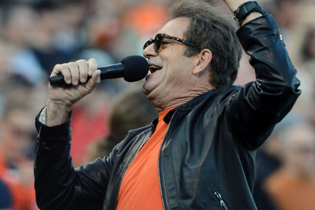 Singer Huey Lewis is having trouble hearing and has canceled his 2018 concerts as he focuses on treatment. File Photo by Terry Schmitt/UPI