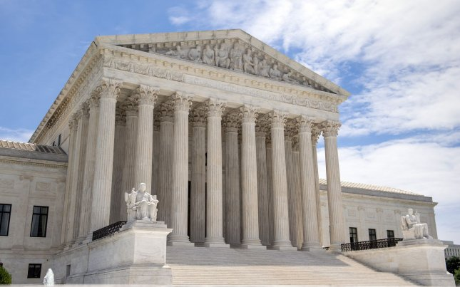 The US Supreme Court ruled 5-4 against loosening voting restrictions in Alabama. Photo by Kevin Dietsch/UPI