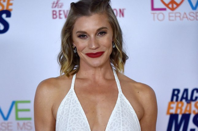 Katee Sackhoff has filmed a holiday movie for Hallmark Channel. File Photo by Chris Chew/UPI