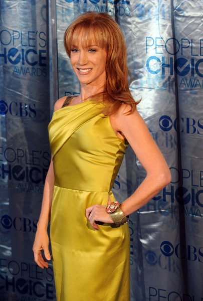 Kathy Griffin arrives at the People's Choice Awards in Los Angeles on January 5, 2011. UPI/Jim Ruymen