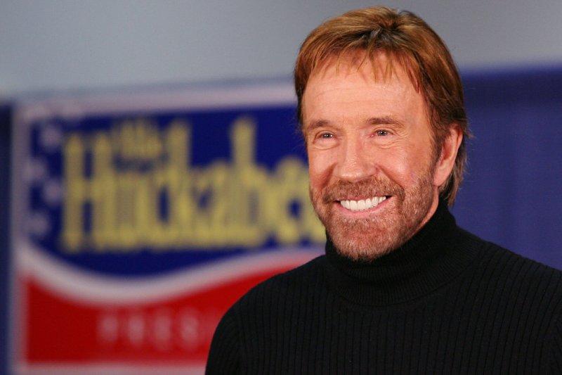 Chuck Norris. (UPI Photo/John Angelillo) .