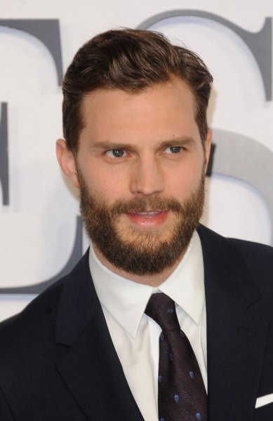 Jamie Dornan attends the U.K. premiere of Fifty Shades Of Grey at Odeon Leicester Square in London on February 12, 2015. The actor recreated his character's work out routine on Conan. File Photo by Paul Treadway/UPI