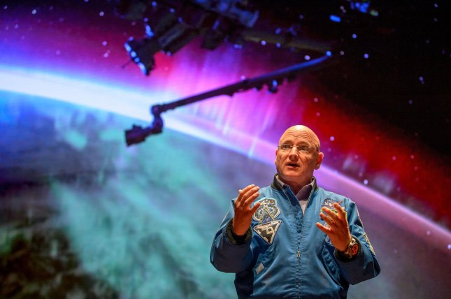 Retired astronaut Scott Kelly is trying to encourage appreciation for and engagement with science. File Photo by Bill Ingalls/NASA