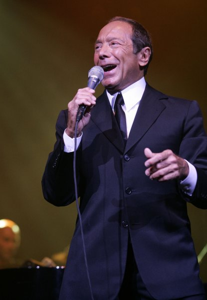 Paul Anka performs in concert at the Seminole Hard Rock Hotel and Casino in Hollywood, Florida on May 21, 2008. (UPI Photo/Michael Bush)