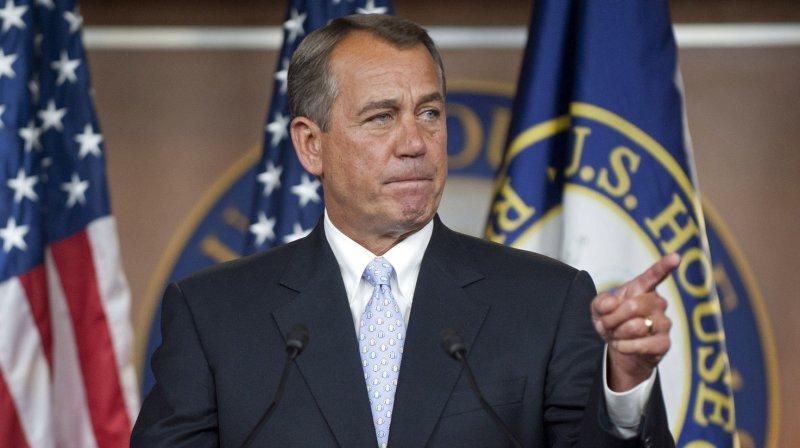 Speaker of the House John Boehner. UPI/Kevin Dietsch