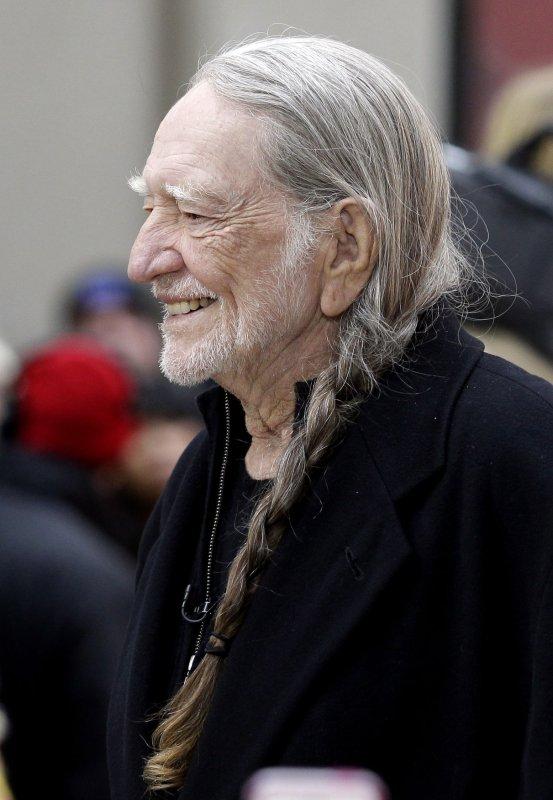 Willie Nelson, pictured Nov. 20, 2012, at Rockefeller Center in New York City. UPI/John Angelillo