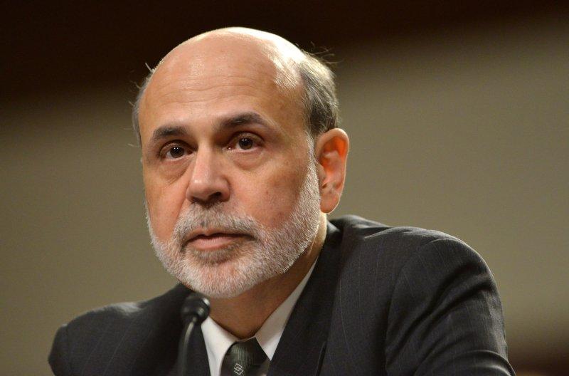 Federal Reserve Board Chairman Ben Bernanke on Capitol Hill in Washington, July 17, 2012. UPI/Kevin Dietsch