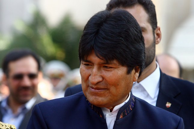 Bolivian President Juan Evo Morales has been at odds with the U.S. since coming to power in 2006. Photo by Maryam Rahmanian/UPI