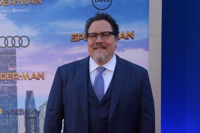 Jon Favreau will receive The Saturn Visionary Award. Here, Favreau attends the premiere of Spider-Man: Homecoming. File Photo by Jim Ruymen/UPI