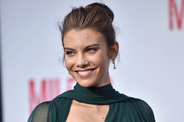 Lauren Cohan can now be seen in a preview of Sunday's episode of The Walking Dead. File Photo by Chris Chew/UPI