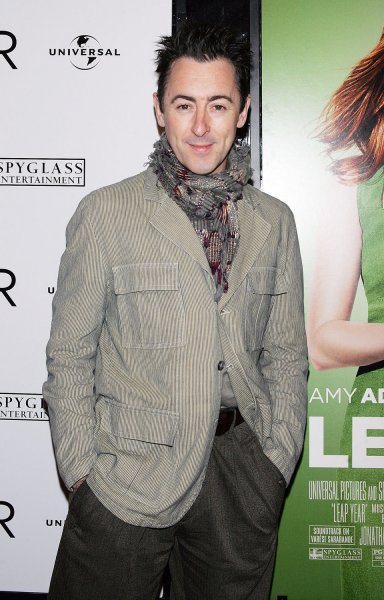 Alan Cumming arrives at the Leap Year Premiere at the Directors Guild of America Theater in New York on January 6, 2010. UPI /Laura Cavanaugh