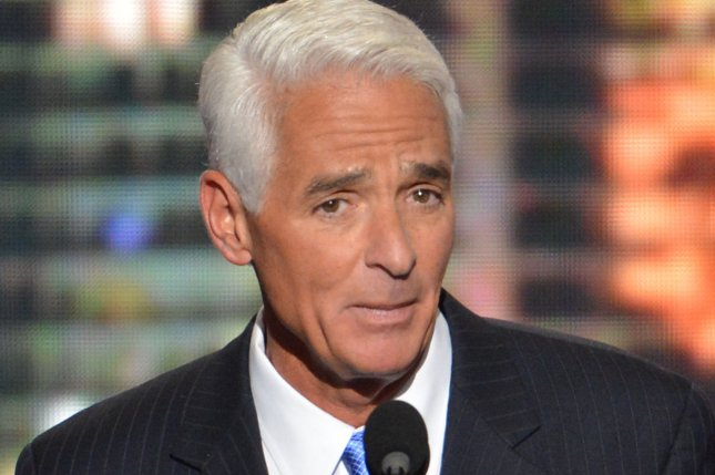 Charlie Crist, Jr., former Republican Governor of Florida, is running again as a Democrat and leading current Republican Gov. Rick Scott. UPI/Kevin Dietsch