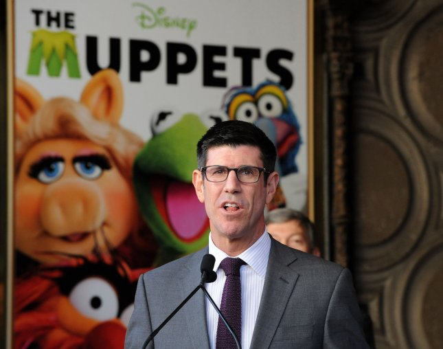 Walt Disney Studios President Rich Ross attends the Inimitable Muppets unveiling ceremony honoring The Muppets with the 2,466th star on the Hollywood Walk of Fame in Los Angeles on March 20, 2012. UPI/Jim Ruymen