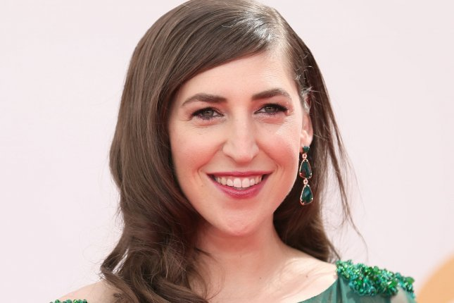 Actress Mayim Bialik arrives for the 65th Primetime Emmy Awards at Nokia Theatre in Los Angeles on September 22, 2013. UPI/Danny Moloshok