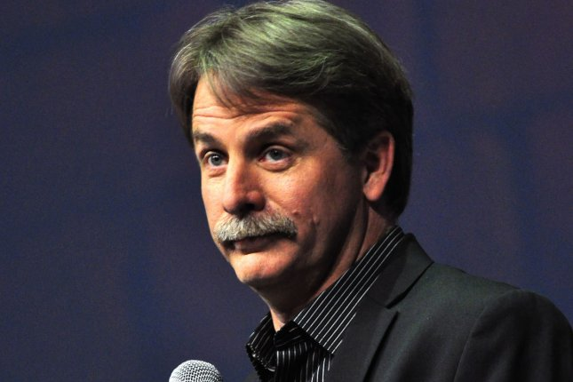 Comedian Jeff Foxworthy has been a named a judge for NBC's Bring the Funny. File Photo by Archie Carpenter/UPI