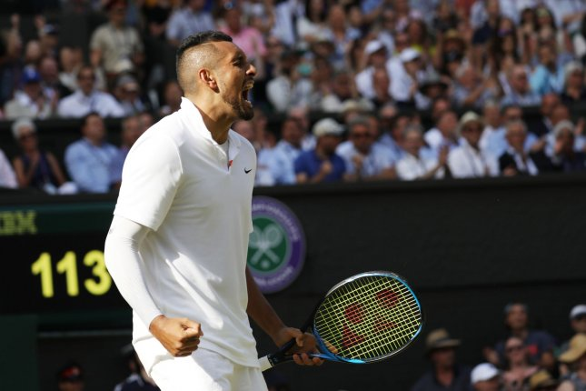 Nick Kyrgios throws tantrum in Cincinnati, calls Irish umpire a potato