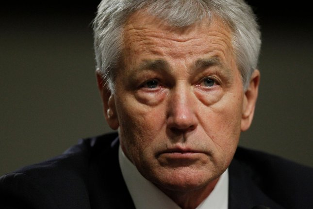 Secretary of Defense Chuck Hagel. UPI/Molly Riley
