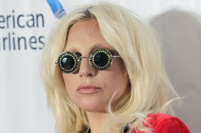 Lady Gaga throws blood-red pool party for 'AHS' cast