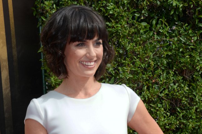 UnReal star Constance Zimmer attends the Creative Arts Emmy Awards in Los Angeles on September 12, 2015. File Photo by Jim Ruymen/UPI