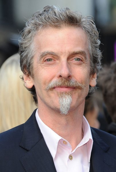 Peter Capaldi at the London premiere of World War Z on June 2, 2013. The actor plays the Twelfth Doctor on Doctor Who. File Photo by Paul Treadway/UPI