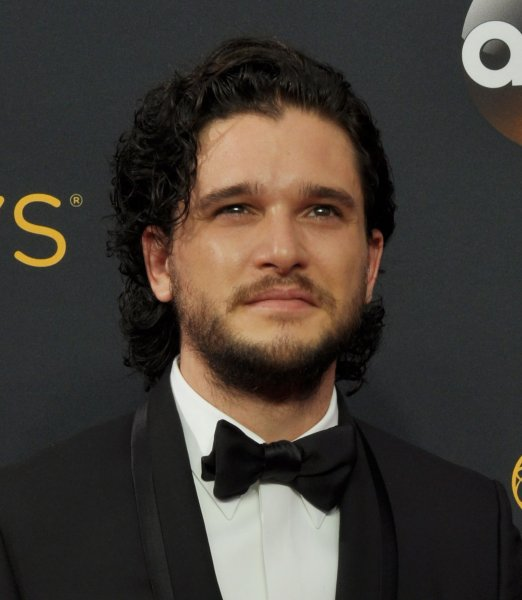 Actor Kit Harington arrives for the 68th annual Primetime Emmy Awards on September 18, 2016. Harington's show, Game of Thrones, will not return to HBO until 2019. File Photo by Christine Chew/UPI