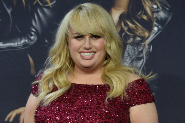 Rebel Wilson apologized Monday after declaring herself the first plus-size actress to star in a romantic comedy. File Photo by Jim Ruymen/UPI