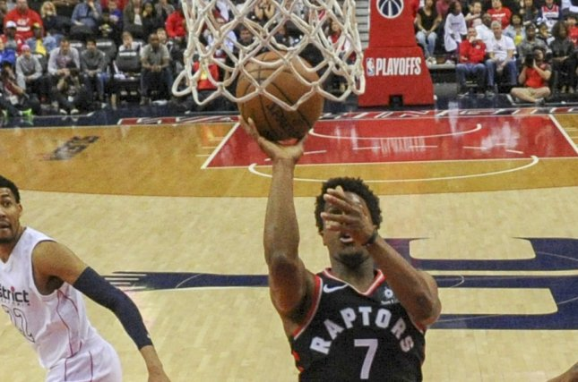 Kyle Lowry and the Toronto Raptors face the Los Angeles Clippers on Tuesday. Photo by Mark Goldman/UPI