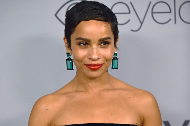 Zoe Kravitz will star as Catwoman in The Batman opposite Robert Pattinson as the caped crusader. File Photo by Christine Chew/UPI