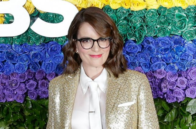 Tina Fey will host NBC's One Night Only: The Best of Broadway, which will help benefit Broadway Cares/ Equity Fights AIDS. File Photo by John Angelillo/UPI