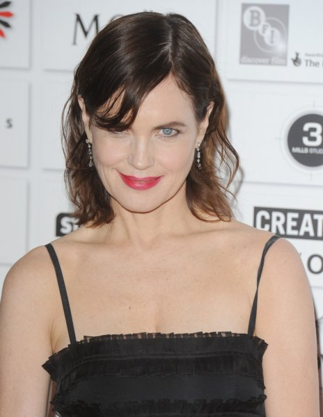 Elizabeth McGovern, one of the stars of the British drama series Downton Abbey.