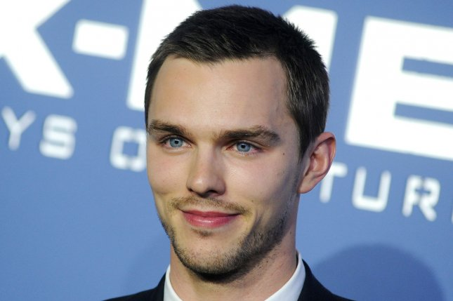 Nicholas Hoult says ex-girlfriend Jennifer Lawrence's nude photo leak is 'a shame.' (UPI/Dennis Van Tine)