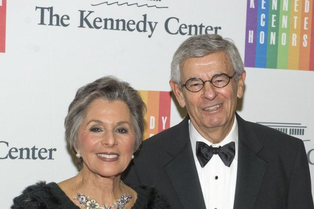Sen. Barbara Boxer, D-Calif., and her husband, Stewart, at the 2014 Kennedy Center Honors on Dec. 6. Boxer announced Thursday she will not seek a fifth term in 2016. UPI/Ron Sachs/Pool
