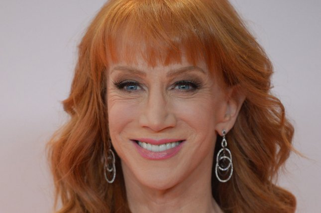 Kathy Griffin attends the Race to Erase MS gala on May 5. File Photo by Jim Ruymen/UPI