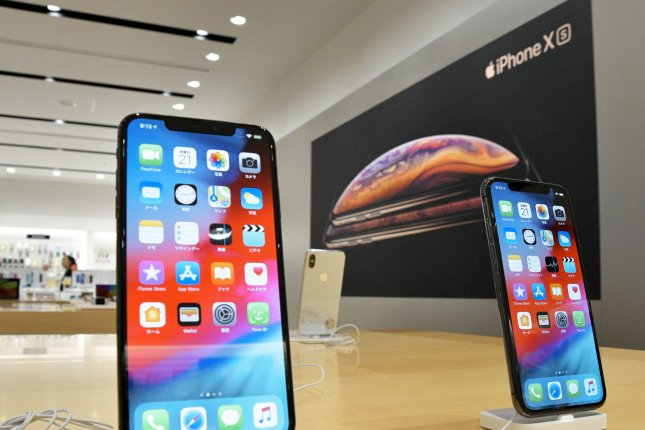 Apple said Thursday it will appeal a ruling by a German court that bans the sale of iPhones in the country. File Photo by Keizo Mori/UPI