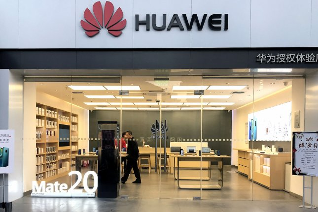Huawei Technologies said the allegations against its former employee have nothing to do with the smartphone giant. File Photo by Stephen Shaver/UPI