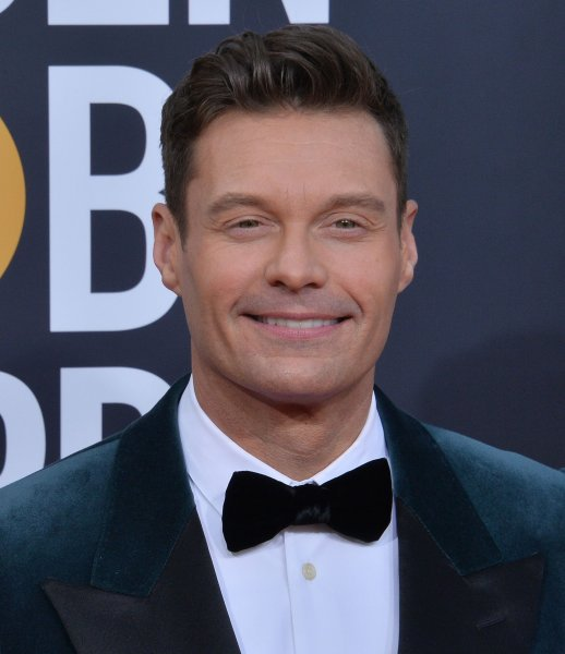 Ryan Seacrest appeared on Live with Kelly and Ryan after denying he had a stroke during the American Idol finale. File Photo by Jim Ruymen/UPI