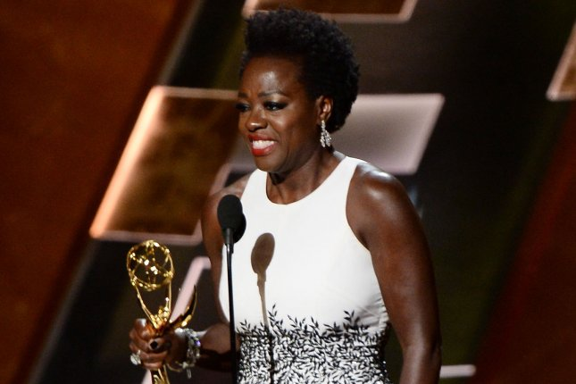 Actress Viola Davis accepts the award for Outstanding Lead Actress in a Drama Series for 'How to Get Away with Murder' onstage during the 67th Primetime Emmy Awards at the Microsoft Theater in Los Angeles on Sept. 20, 2015. Photo by Ken Matsui/UPI.