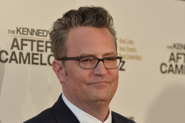 Matthew Perry attends the Beverly Hills premiere of The Kennedys: After Camelot on March 15. File Photo by Jim Ruymen/UPI