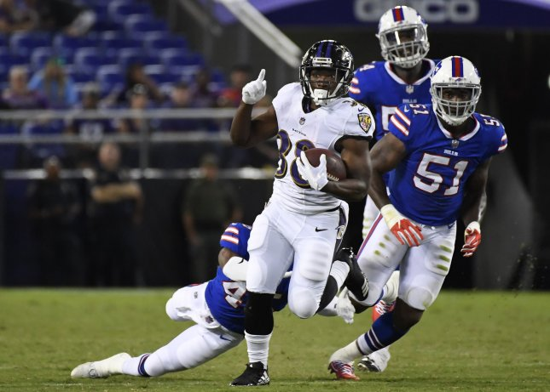 best service 626b4 10aea Buffalo Bills lose Tyrod Taylor, game to Baltimore Ravens ...