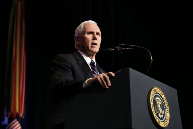 Vice President Mike Pence announced the lifting of sanctions imposed against the former Venezuelan chief of intelligence for breaking ranks with the Maduro regime. Photo by Martin H. Simon/UPI