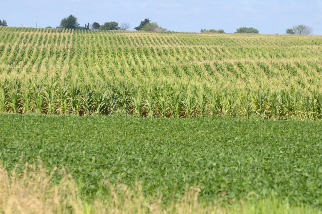 Humans spray enough glyphosate to coat every acre of farmland in the world with half a pound of it every year. File Photo by Mike Theiler/UPI.